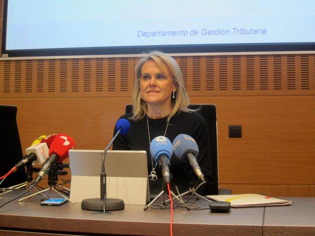 La delegada de la AEAT en CyL, Georgina de la Lastra.