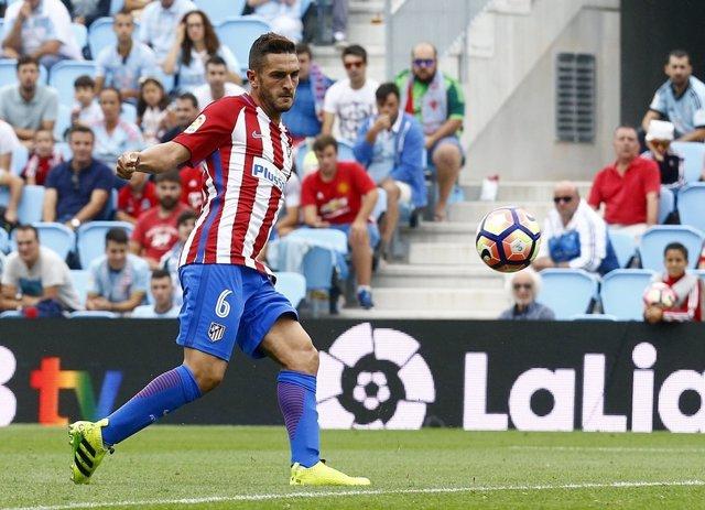 Koke Atlético de Madrid contra Celta