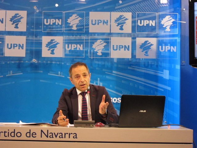 Juan Luis Sánchez de Muniáin, portavoz de UPN