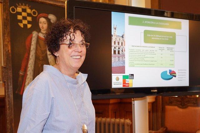 Valladolid. Presentación de la Memoria de Servicios Sociales