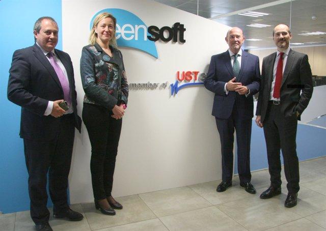 UST-Global inaugura sus nuevas oficinas en Zaragoza.