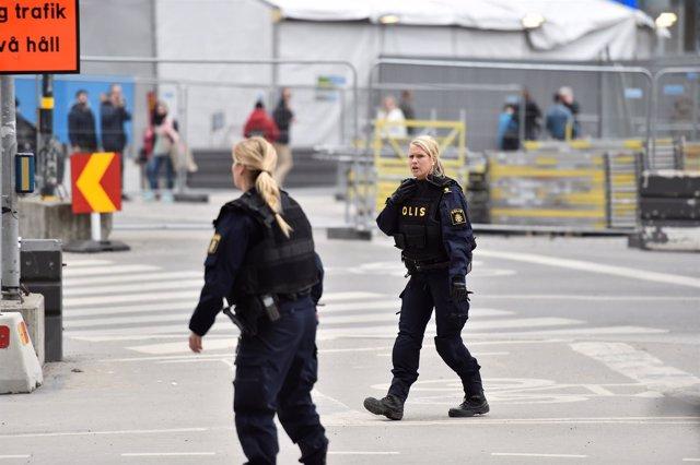 Un camión atropella a tres personas en Estocolmo