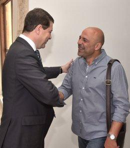 Emiliano García-Page y José García Molina.