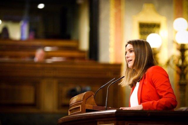 La diputada de Cs Virginia Salmerón