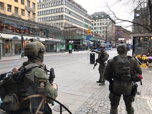Atentado con un camión en Estocolmo