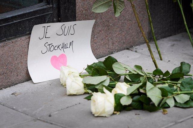 Ataque en Estocolmo - abril 2017 - Condolencias
