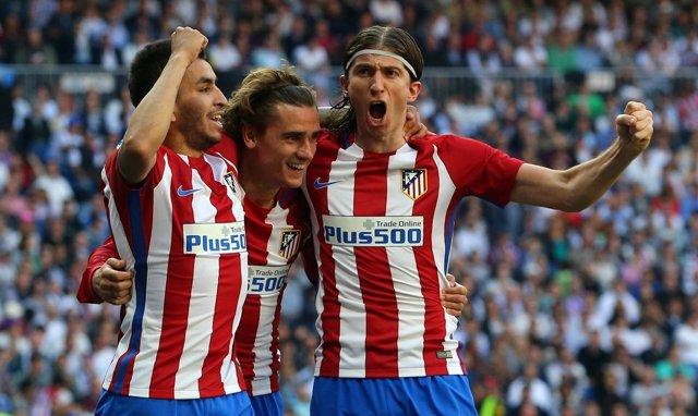 Griezmann amarga el derbi al Madrid