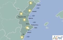 El sol se mantendrá en toda la región
