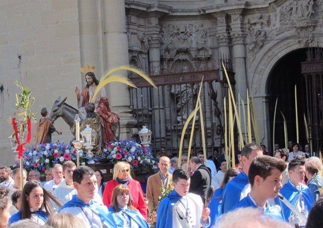 Salida de la procesión 2017