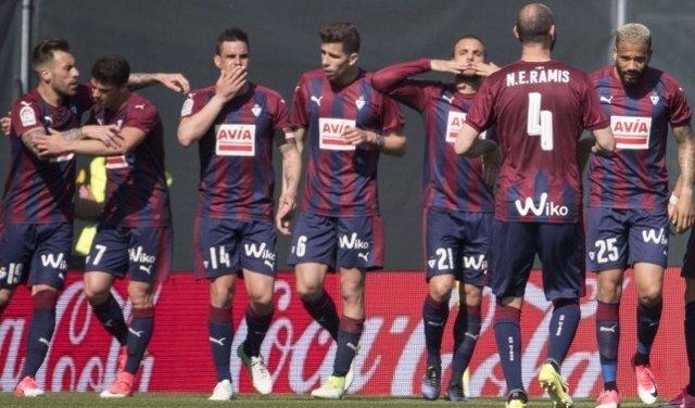 El Eibar se mete en la lucha por la Europa League