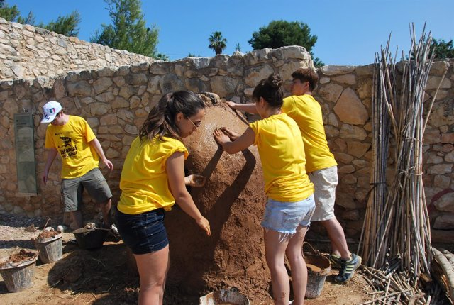 Un campo de trabajo de verano de la Generalitat