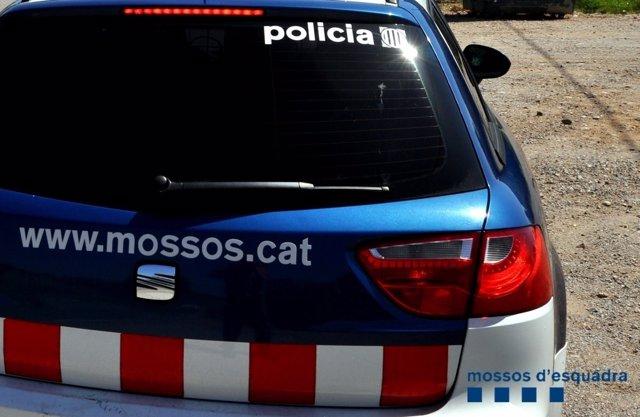 Mossos coche patrulla