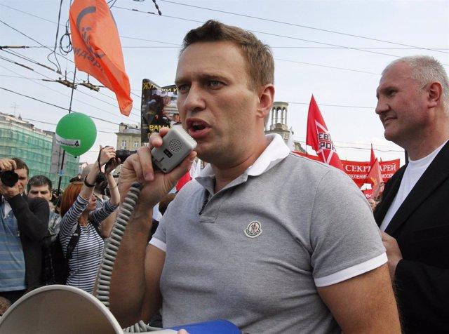 Alexei Navalni, en una imagen de archivo