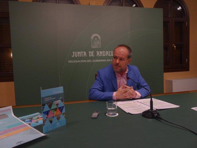 El delegado de Medio Ambiente, Francisco de Paula Algar