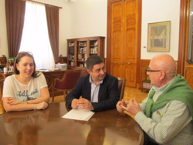Recepción a los Hisjos de Jaén en Barakaldo