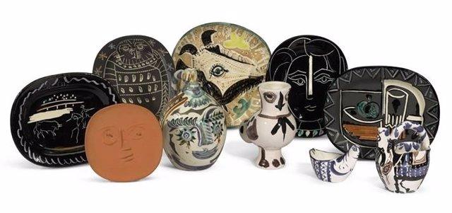La cerámica de Picasso subastada en Sotheby's