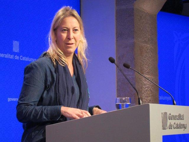 Neus Munté, consellera de la Generalitat