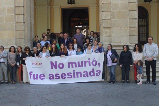 Concentración en Sevilla.