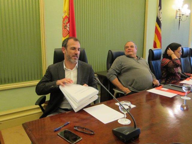 Biel Barceló en la comparecencia parlamentaria