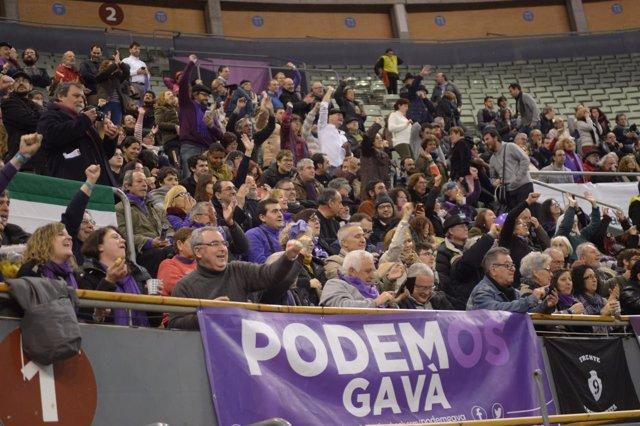 Asistentes al Congreso de Podemos, Vistalegre II
