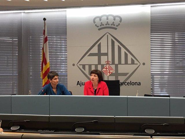 Maria Truñó y Laia Ortiz