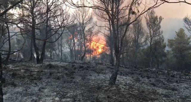 Incendio Villalpardo