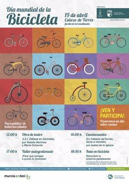 Cartel Día Mundial Bicicleta Cabezo de Torres