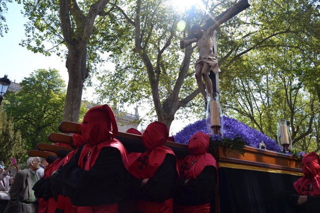Valladolid. Procesión del 'Santísimo Cristo de la Luz'