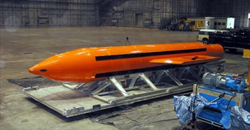 EEUU lanza contra Estado Islámico en Afganistán la bomba no nuclear más...