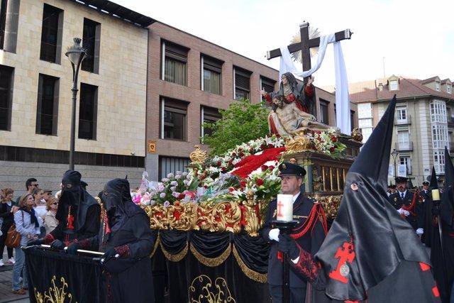 Valladolid. Procesión Penitencia y Caridad