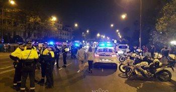 Ascienden a ocho los detenidos por desorden público por los incidentes en...