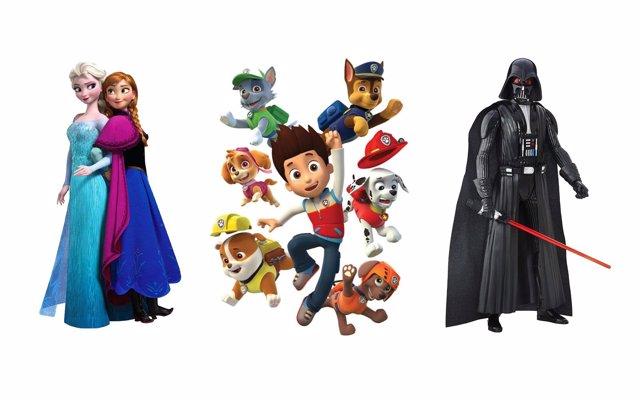 Patrulla Canina y Star Wars lideran el ranking de juguetes esta Navidad