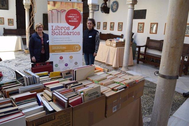 Feria del Libro solidario en Granada
