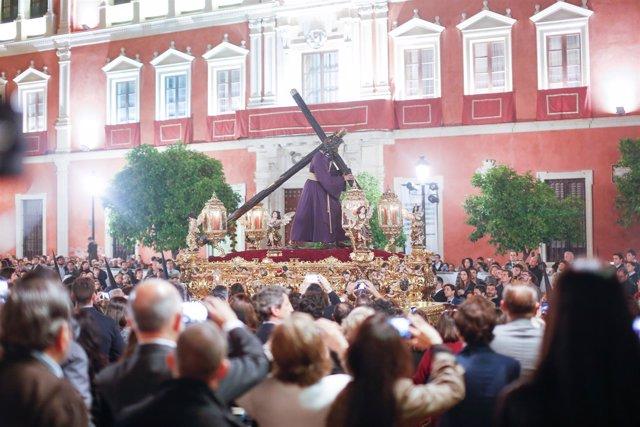 Procesión del Gran Poder en Sevilla