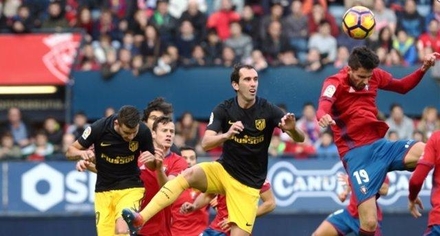 Atlético Osasuna Diego Godín Kenan Kodro