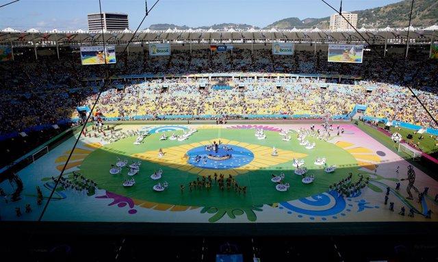 Ceremonia de clausura del Mundial de Brasil