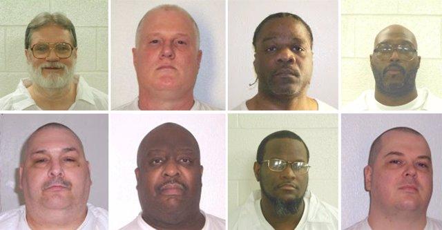 Condenados a muerte en Arkansas