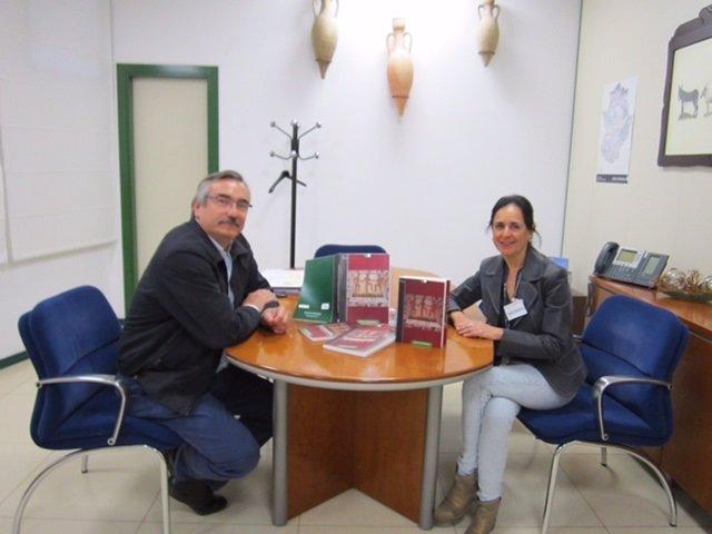 Antonio Cabezas y Julia Marín