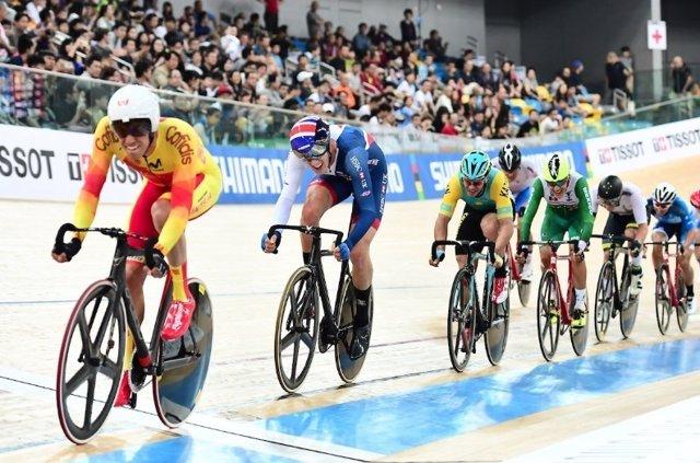 Albert Torres omnium Mundial ciclismo pista