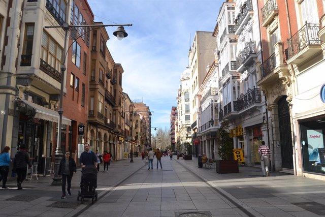 Palencia. Calle Mayor de Palencia