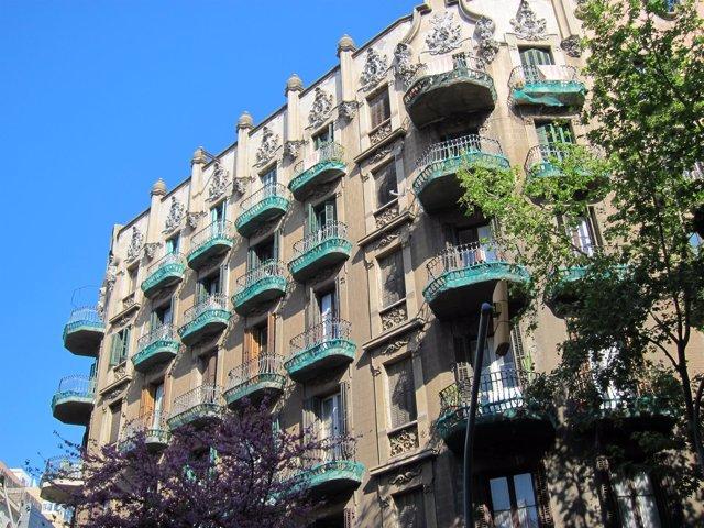 Edificio del Eixample de Barcelona