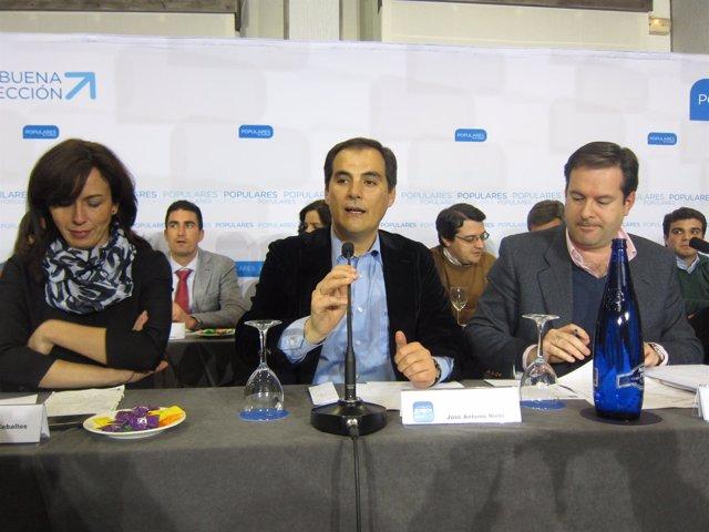 José Antonio Nieto en la Junta Directiva del PP