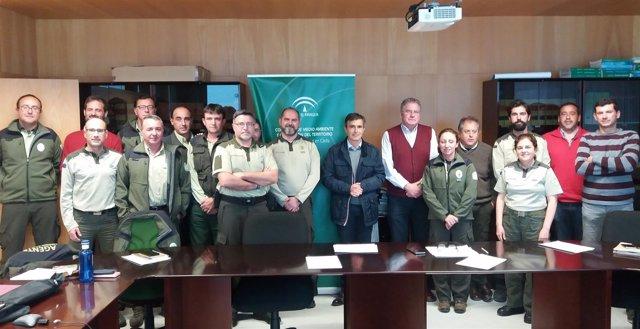 Reunión de responsables de la Estrategia Andaluza contra el veneno en Cádiz