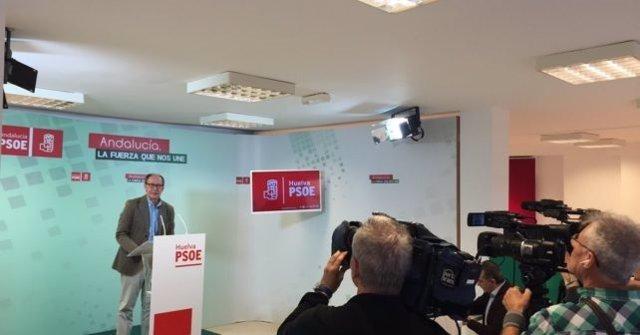 El diputado del PSOE por Huelva José Juan Díaz Trillo