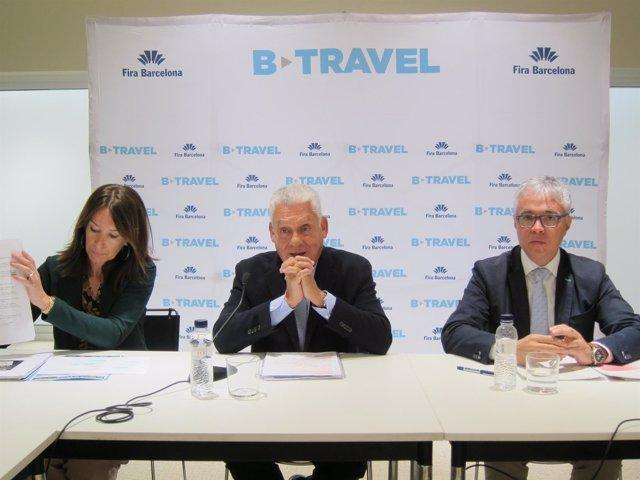 Presentación de B-Travel con M.Serra, J.Clos y O.Bono