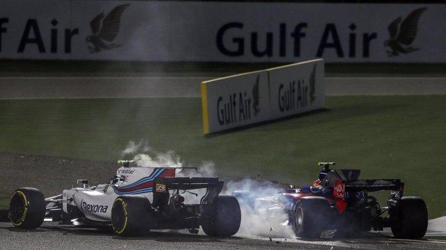 Sainz, sancionado tres puestos en la parrilla de Rusia por su choque con Stroll