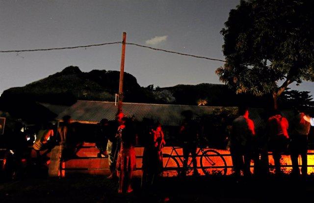 Derrumbe de un vertedero en Colombo, Sri Lanka