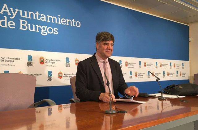 Fernando Gómez, concejal no adscrito del Ayuntamiento de Burgos