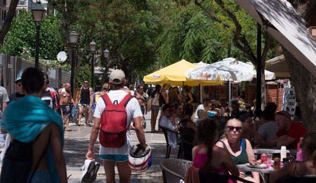Turistas en la provincia de Castellón
