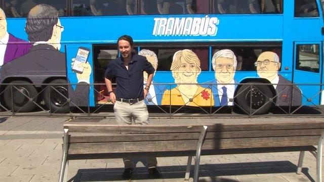 """El 'Tramabus' quiere """"desenmascarar"""" la """"trama"""""""